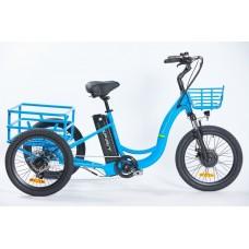 "Elektrobicykel Spirit SHOPPING Max, trojkolka 20"", modrá, 18Ah /250W, 36V/"