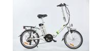 "Elektrický bicykel Spirit JOY2, 20"", biela /250W, 36V/13Ah/"