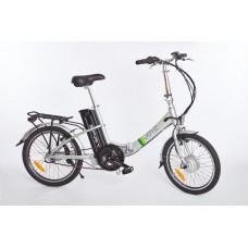 """Elektrický bicykel Spirit JOY2 NEXUS """"skladačka"""", 20"""", strieborná /250W, 36V/18Ah/"""