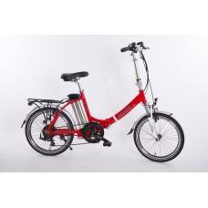 "Elektrický bicykel Spirit JOY2/2018, 20"", červený /250W, 36V/13Ah/"