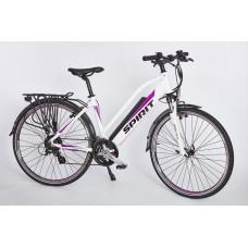 """Elektrobicykel Lady JOYCE 28"""", biely, 250W/13Ah integrovaná batéria"""