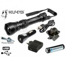 Wolf-Eyes Ranger XP-L HI V2, USB nabíjateľný - H. Full Set
