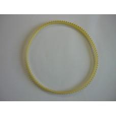 Remeň Kurbel 360 biely / žltý