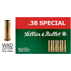 S&B 38 Special Wad Cutter