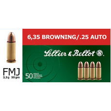 S&B 6,35 Browning FMJ