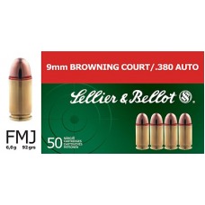 S&B 9mm Browning FMJ