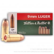 S&B 9mm Luger SP