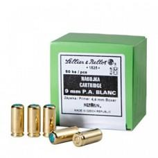 Štartovacie náboje 9mm pištoľ